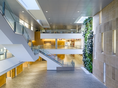 Photo for the news post: Richcraft Hall Atrium and Conference Rooms